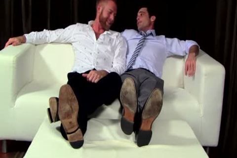 Chris receives His Feet Worshipped By Lance