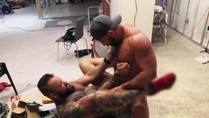 Pup & Tank fuck bare All Over A Construction web page - American Nail