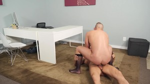 My Assistant The Porn Star: bareback - Jake Porter, Colby Tucker American plow