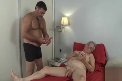 grand-dad Want To Be plowed By A Daddy