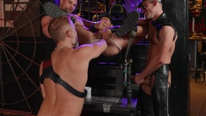 Tom Of Finland: Leather Bar Initiation - Dirk Caber, Kurtis Wolfe American Hump