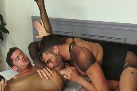 homosexual Stocking Sex two