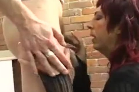 dilettante Roleplay lady-twink gets fucked By Two Plumbers