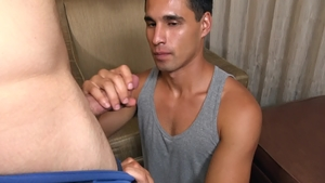Str8Chaser: Brown hair Paul Wagner fucks in the ass outdoors