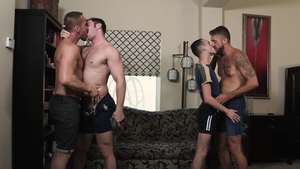 Family Dick - Passionate Wesley Woods fucked by Myles Landon