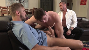 Family Dick: Wesley Woods giving head for Michael Boston