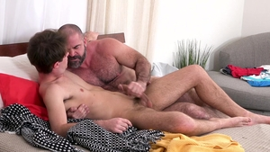 FamilyDick: Bishop Angus among Maxx Monroe gentle bound