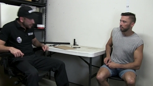 YoungPerps: Super sexy Shane Jackson enforcement in the store