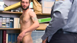 YoungPerps - Jesse Prather in company with clerk Mike Maverick