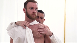 MissionaryBoys: Hairy & thick Bishop Hart fucked in the butt