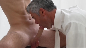 MissionaryBoys: Super sensual Elder Esplin ass to mouth