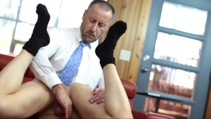 Missionary Boys: Swinger Elder Titov cumshot outside