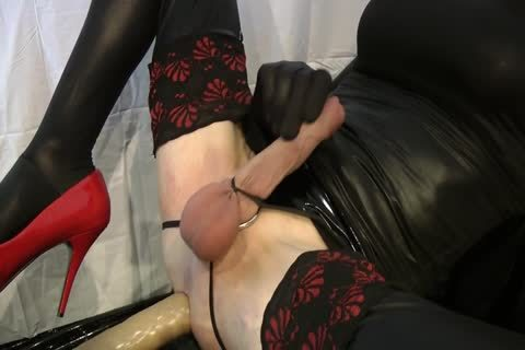 Sissy gets nailed By The Machine