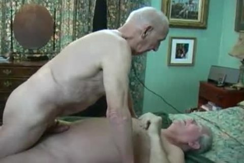 Two daddy males Making Love