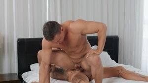 DrillMyHole: Brown hair Ace Quinn bareback blowjob cum indoor