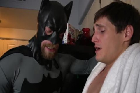 Batman acquires Villain To Talk With suck job And Tickling