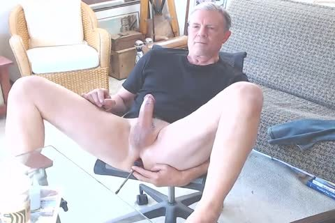 gigantic cock Daddy Jacking Off