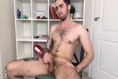 Bushy And brawny Russian Males Alex Discharges A humongous Load