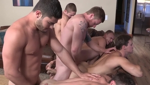 Sean Cody: Pierced Noel with Andy bareback fun with toys