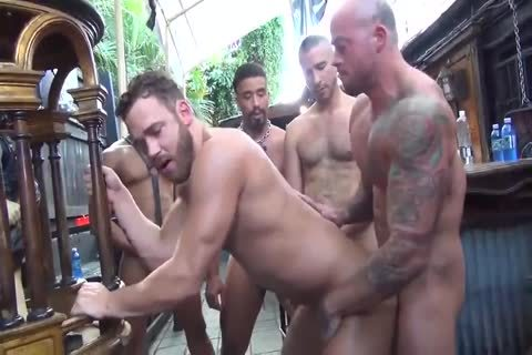 MusclePup Logan Moore acquires bunch slammed Barebacked bang