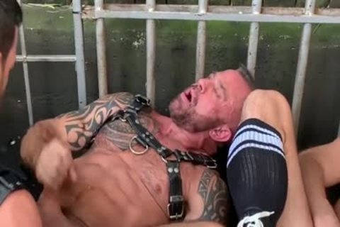 Leather Gear group fuck