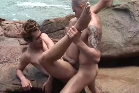 meeting A kinky man At The Beach And fuck His butthole