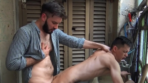 RealityDudes: Twink Andres face fucking porn
