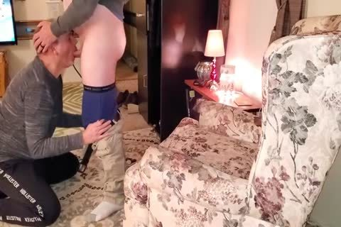 sucking O guy Off And Eating his sperm