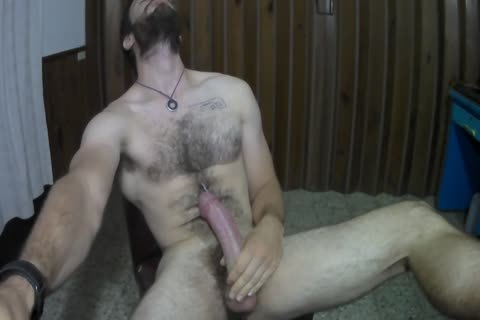 hairy Muscled lad webcam Show