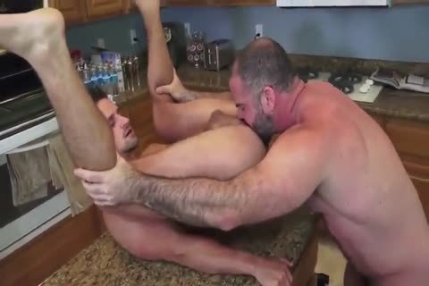 Bishop Angus fuck In The Kitchen