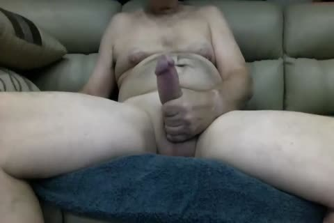 large cock Random Daddy Shows Off