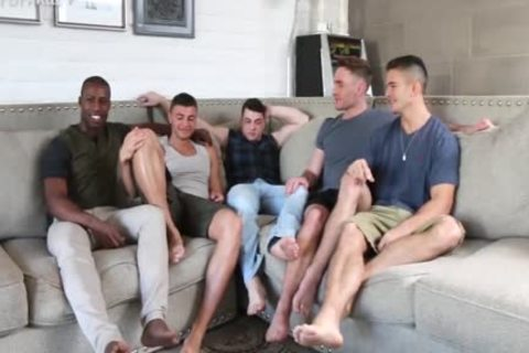 'Sexiest Muscle studs On PornHub get A Star Studded homosexual orgy together. One For The Books!'
