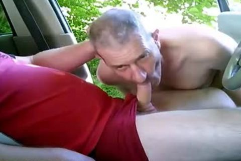lascivious homo men On Car Have Some Public And Outdoor Sex