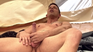 DrillMyHole.com - Michael DelRay throat fuck scene