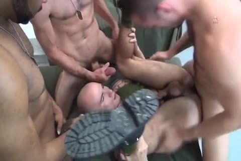 nasty Military gay orgy By GrzeGoRzUni1988