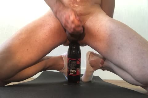 he Squirts After Severe ass Insertion