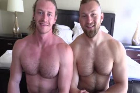 'Jaxon Valor receives Filled And Showered By Russel's chubby cock'