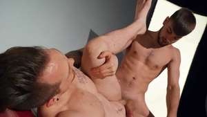 Drill My Hole - Inked Jackson Cooper licking ass face fucking