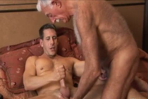 hairy daddy man Mutual Masturbation With Younger Coworker