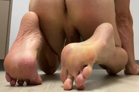 bawdy Sweaty Feet Soles Toes anal hole dong Balls cum Load