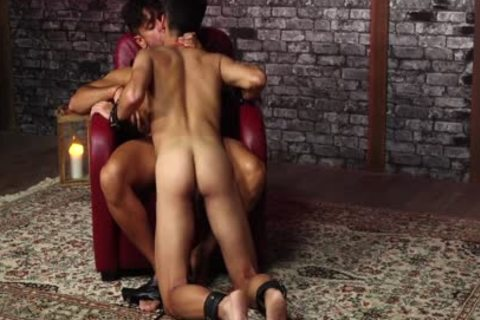 fine Latin lad cutie dark Is Dominated And bare screwed By tasty Daddy After Domination Session