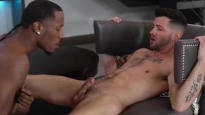 Noir Male: Gagging with Deep Dic and Casey Everett