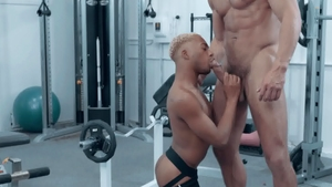 NoirMale.com: Marcel Tykes with Cade Maddox plowed hard