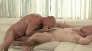 IconMale: Mature Scott Riley enjoying big cock daddy