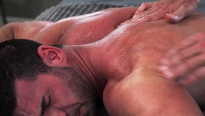 IconMale.com: Billy Santoro touching huge penis