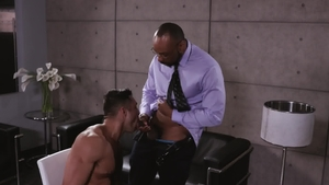 NoirMale - Hairy Seth Santoro and ebony Ray Diesel