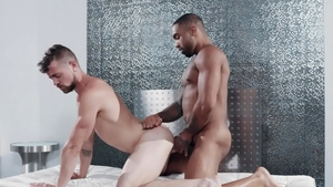 NoirMale.com: Remy Cruze escorted by muscled Jay Austin
