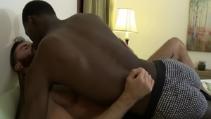 Icon Male: Hairy Brendan Patrick with ebony Drake Magnum