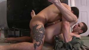 IconMale - Sam Truitt as well as Ty Roderick blowjob cum in HD