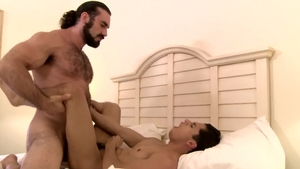 Icon Male - Muscled Armond Rizzo showing huge dick